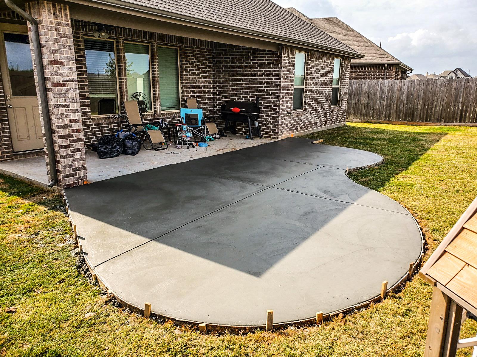 Concrete Patio Katy Tx